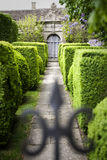 Doorway in a formal Garden Royalty Free Stock Image