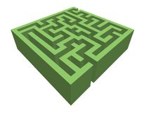 Hedge maze Stock Image