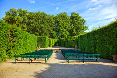 The Hedge Theater in Mirabell Gardens. Salzburg, Austria Royalty Free Stock Photo
