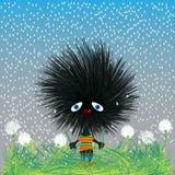 hedgehod smutny Zdjęcie Royalty Free