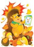 hedgehog кроссворда иллюстрация штока