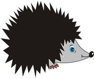Hedgehog. Vector images of a hedgehog - the fantastic character, an animated cartoon, a toy Stock Images