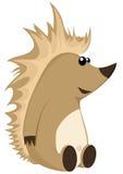 Hedgehog. Detailed illustration of a cute hedgehog character Stock Images