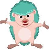 Hedgehog cartoon posing Royalty Free Stock Photos