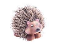 Hedgehog figurine Royalty Free Stock Photo