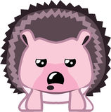 Hedgehog icon file. Eps vector Royalty Free Stock Photography