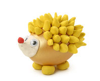 Hedgehog made from egg Royalty Free Stock Photography