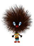 Hedgehog punk Royalty Free Stock Photo