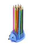 Hedgehog - a support for pencils Royalty Free Stock Images