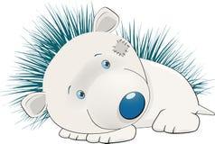 Hedgehog triste Imagens de Stock Royalty Free