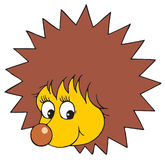 Hedgehog (vector clip-art) Royalty Free Stock Images