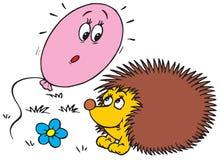 Hedgehog (vector clip-art) Stock Images