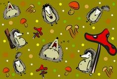 hedgehogs Fotografía de archivo libre de regalías