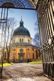 Hedvig Eleonora Church i Stockholm, Sverige Royaltyfria Foton