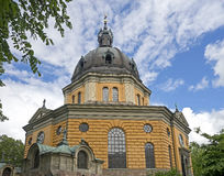 Hedvig Eleonora church 1 Stock Photos