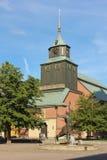 Hedvigs教会。诺尔雪平。瑞典 库存照片
