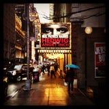 Hedwig Broadway Sign Imagem de Stock