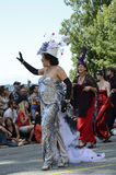 Hedy Fry at Vancouver Pride Parade royalty free stock images