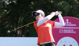 Hee Lee at golf Evian Masters 2012 Royalty Free Stock Images
