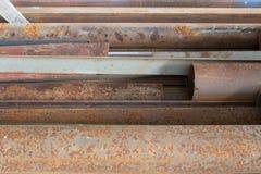 Oud staal Stock Fotografie