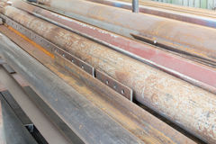 Oud staal Royalty-vrije Stock Fotografie