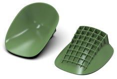 Heel cups shock absorbers Royalty Free Stock Image