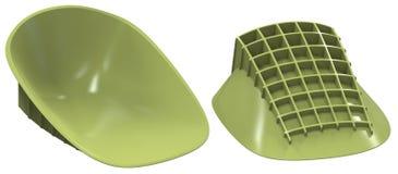 Heel cups shock absorbers Stock Photos