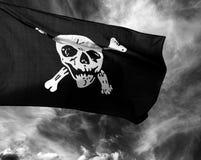 Heel de piraatvlag van Roger royalty-vrije stock foto
