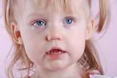 Heel klein Meisje royalty-vrije stock foto