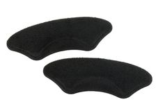 Heel protecting pads in Black color Stock Photography