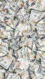 Heel wat dollars Hoogst gedetailleerd beeld van Amerikaans geld stock afbeeldingen