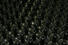 Heel wat Flessen van de Wijn royalty-vrije stock foto's