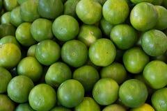 Heel wat groene citroen, Achtergrond Royalty-vrije Stock Foto's