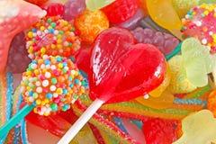 Heel wat kleurrijk kleurrijk suikergoed Royalty-vrije Stock Afbeelding