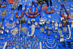 Heel wat Marokkaans vakmanschap stock foto's