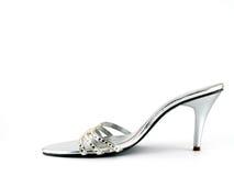heeled hög sko Royaltyfria Foton