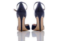 Heeled sandały Obrazy Royalty Free