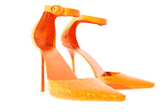 Heels. 3D render womens high heels Royalty Free Stock Image