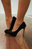 Heels close up Royalty Free Stock Photos