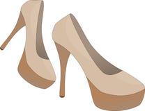 The Heels Hight Elegant Style Royalty Free Stock Image