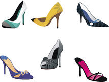 Heels, Pumps & Stilettos Royalty Free Stock Photography