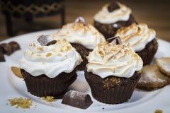 Heemst Cupcakes Royalty-vrije Stock Foto's