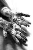 Heena hands Royalty Free Stock Photography