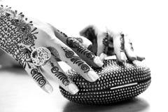 Heena hands Royalty Free Stock Images