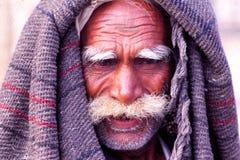 Heer bij de Kameelmarkt, Jaisalmer, India Royalty-vrije Stock Fotografie