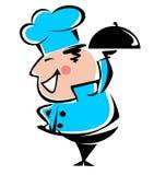 Сheerful chef Stock Photos