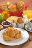Heerlijk Continentaal Ontbijt stock afbeelding