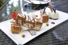 Heerlijk dessert Stock Afbeelding