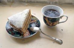 Heerlijk Dessert voor thee stock fotografie