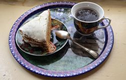 Heerlijk Dessert voor thee royalty-vrije stock afbeeldingen